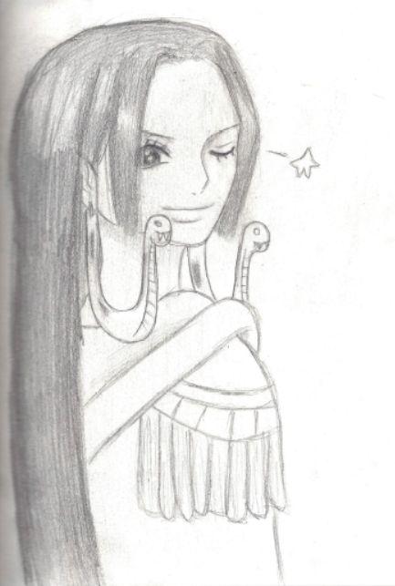 Galerie de dessins d'Erza Scarlet  Dessin10