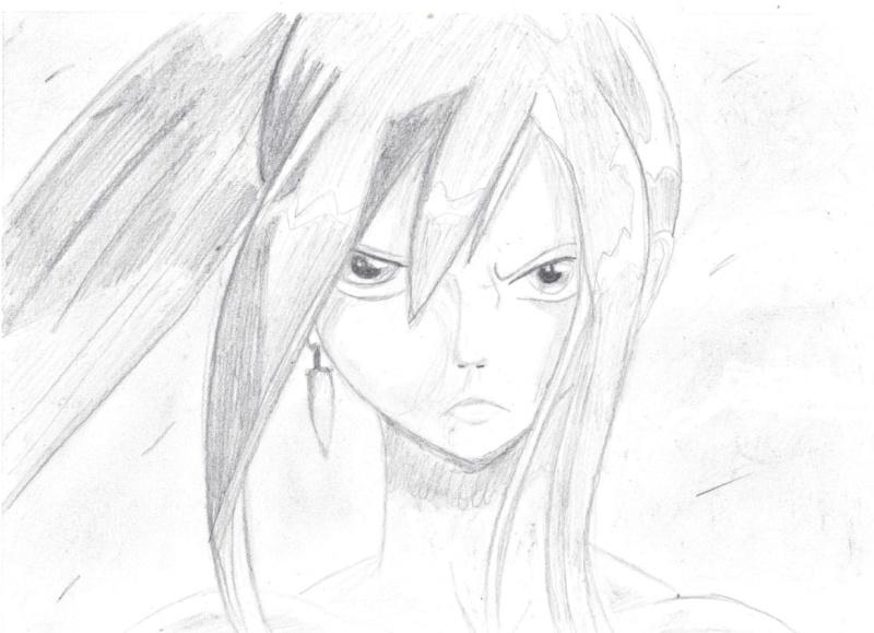Galerie de dessins d'Erza Scarlet  Dessin13