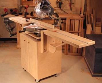 réalisation d'un meuble support pour scie à onglet Fea39_10