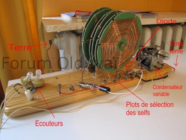 """Fabrication d'un poste """"à galène"""" Img_6322"""