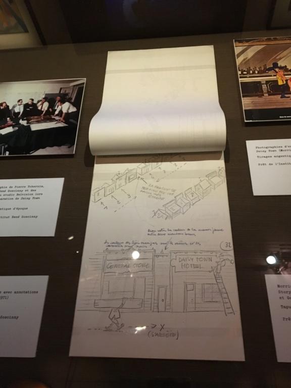 exposition sur le Cinéma à Angoulême sur l'oeuvre de Goscinny Img_2110