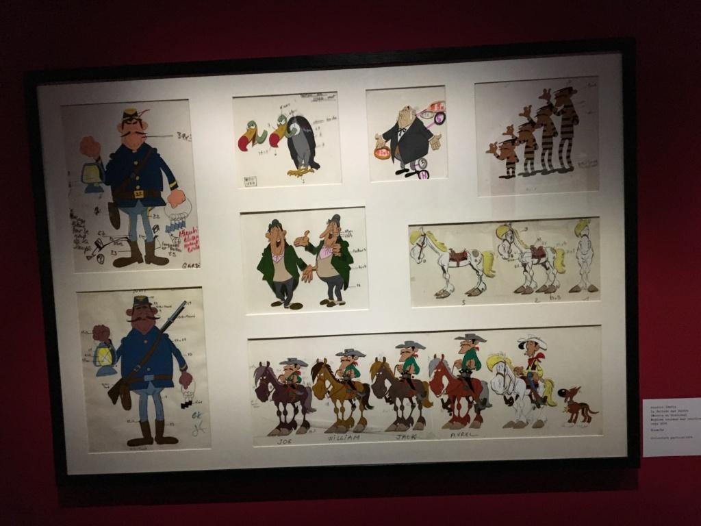 exposition sur le Cinéma à Angoulême sur l'oeuvre de Goscinny Img_2126