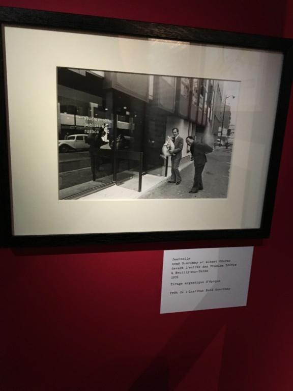 exposition sur le Cinéma à Angoulême sur l'oeuvre de Goscinny Img_2131