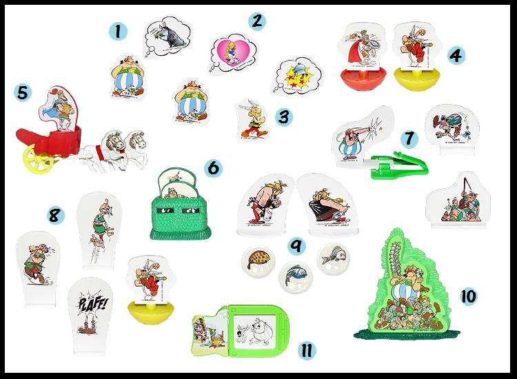 mes recherche sur Astérix d'Obélixchoux Kinder10