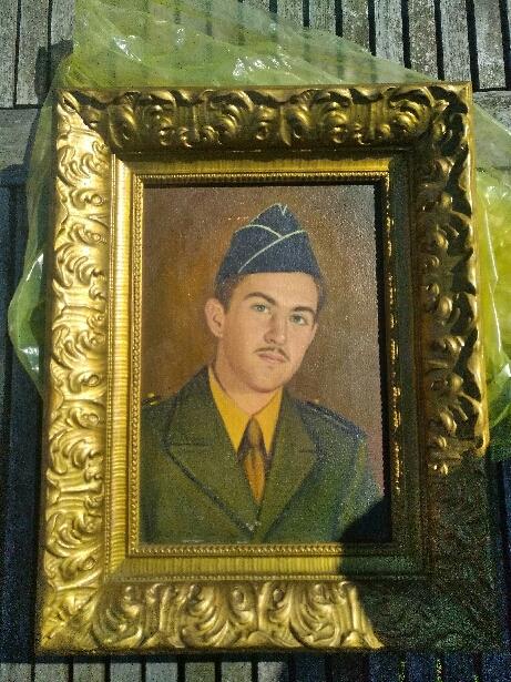 Portait soldat américain WW2 15378911