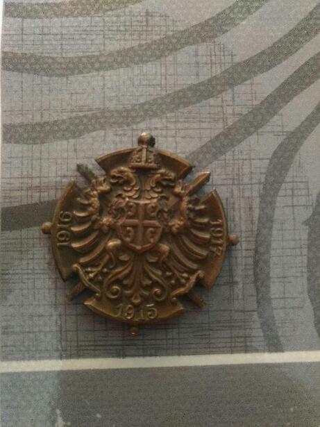 Médaille 1ere guerre + aigle  15508511