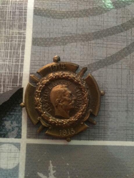 Médaille 1ere guerre + aigle  15508512