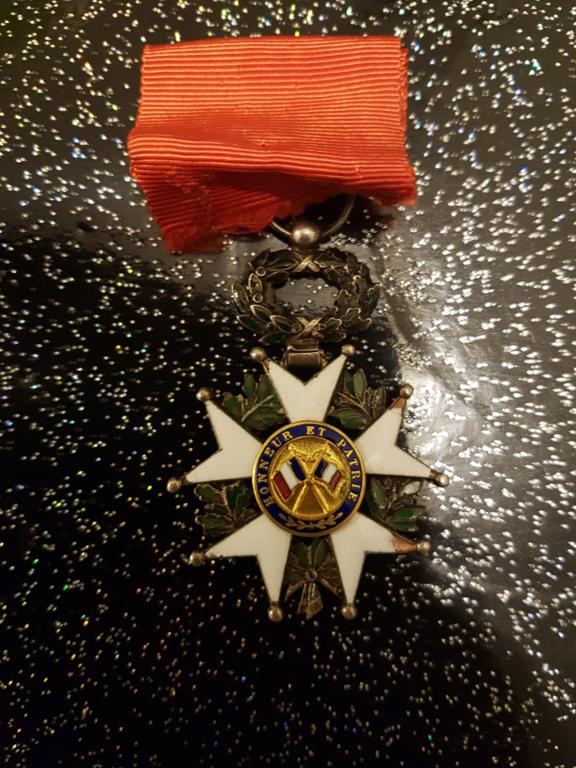 Médaille légion d'honneur 2b585710