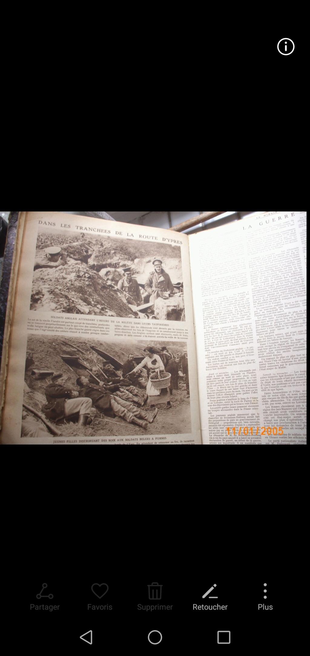 Livre relié Le Miroir  Screen11