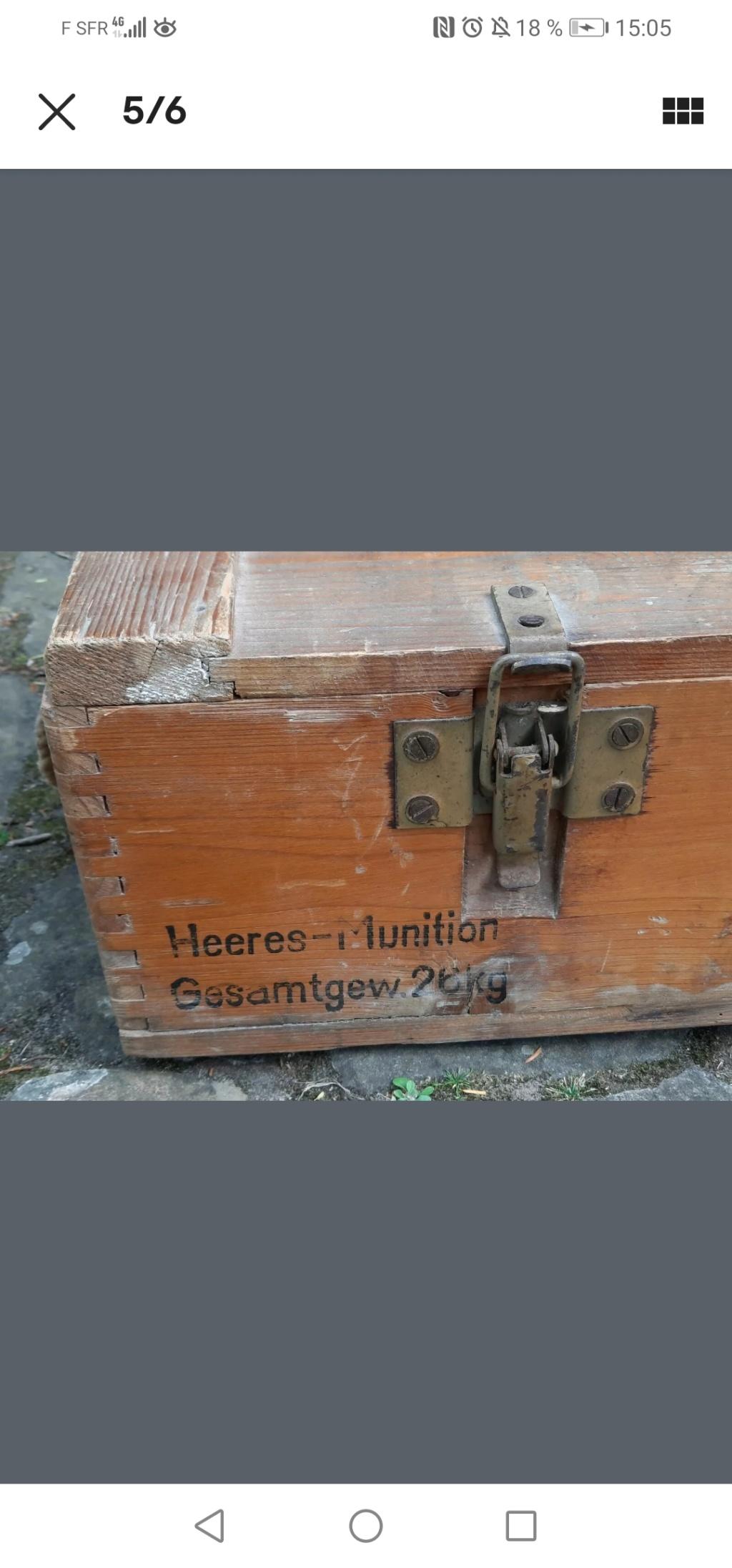 Identification et estimation caisse Allemande Screen37