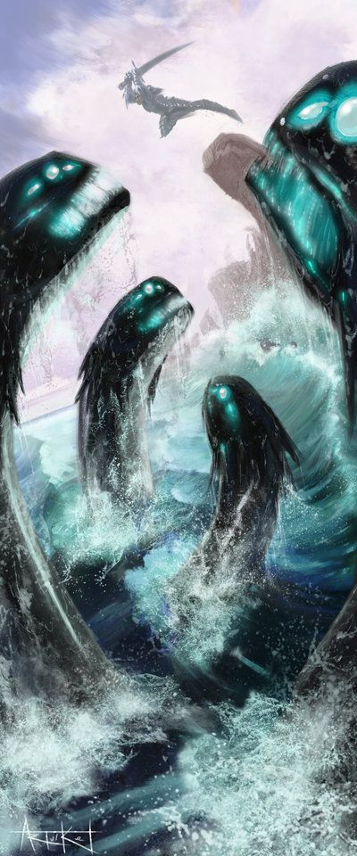 Demande d'ajout de monstres dans le bestiaire - Page 6 Hydre_10