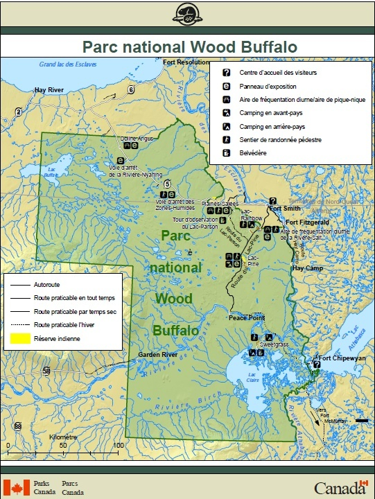 [Canada] - Le plus grand barrage de castors découvert grâce à Google Earth Parc_n11