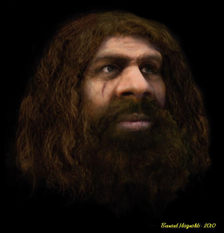 l'image de l'homme préhistorique - Page 7 Homme-10