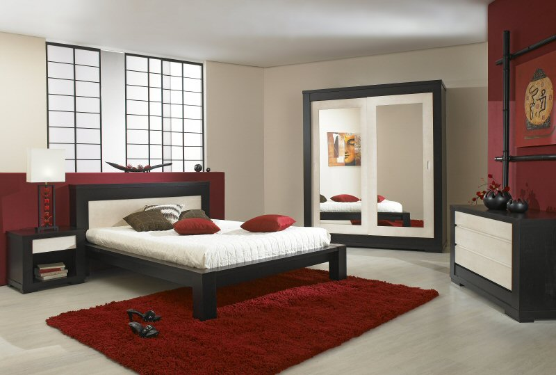 """Chambre taupe et """"lin"""" 09060510"""