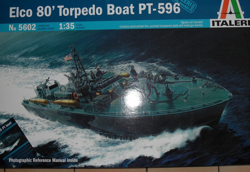 ELCO 80 TORPEDO BOAT 1/35 ITALERI par Aline 13000 Sam_0542