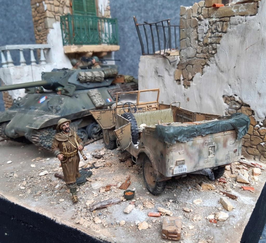 M10 français Italie 1944 - AFV CLUB - 1/35 M10_in11