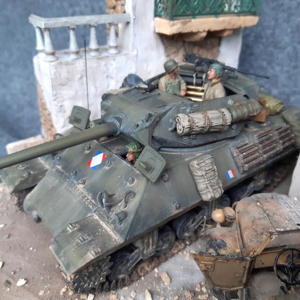 M10 français Italie 1944 - AFV CLUB - 1/35 M10_m110