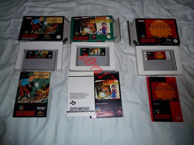 Gameroom B0ya13 ==> goo fullset snes fah/eur [13/03 Snes game ] P1010871