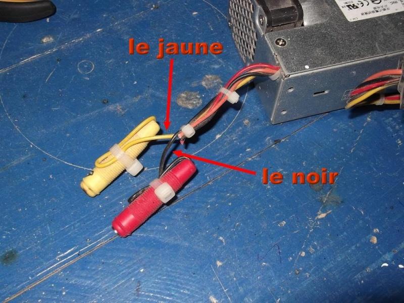 Alimentation pour viseuse 12 volts (batterie abimée) 510