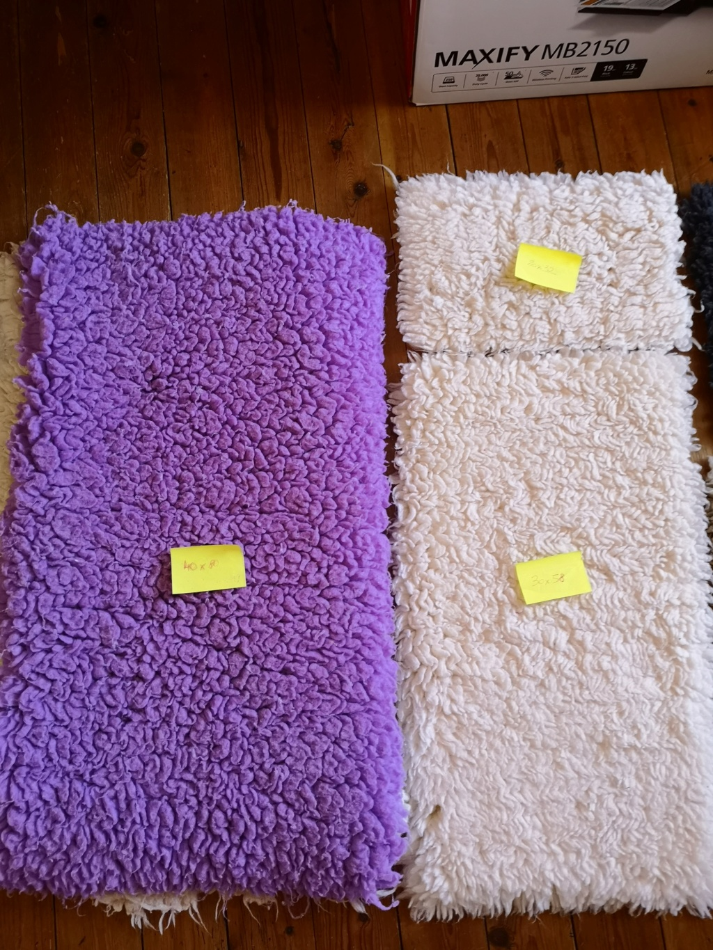 Lot de 5 tapis Drybed  Img_2028