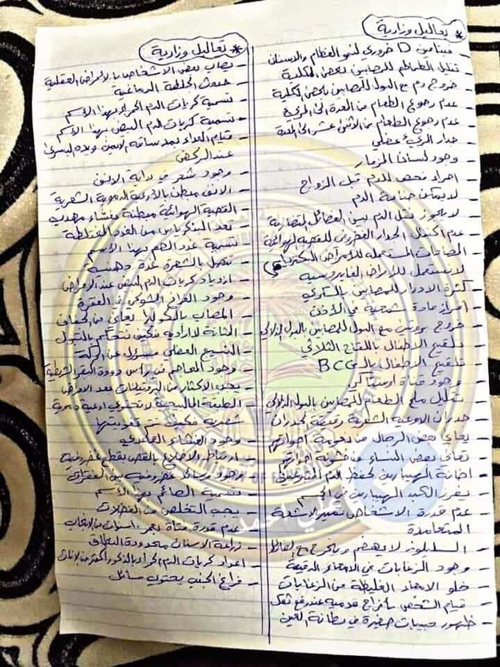 اسئله احياء وزاري للصف الثالث متوسط 2019 249