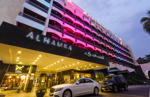 فندق الحمراء: وظائف استقبال وحجوزات ومحصلين ماليين نسائية ورجالية براتب مغري Alhamr10