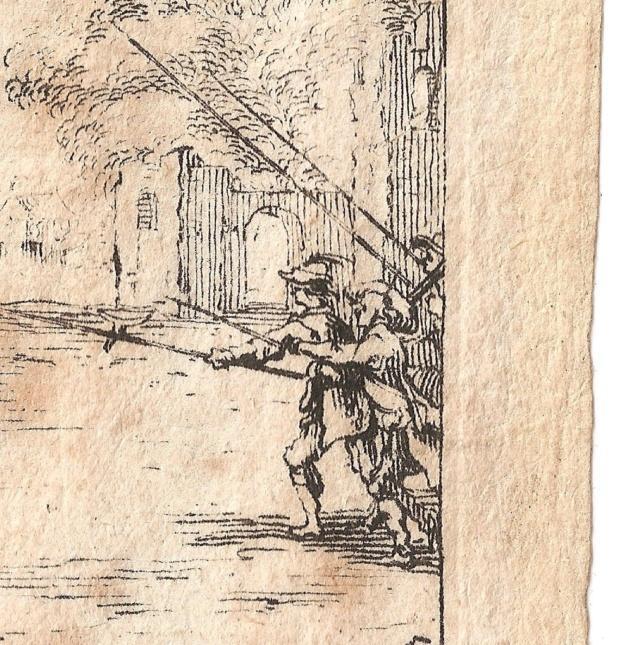 Gravure sur la Guerre de Trente Ans Dzotai12
