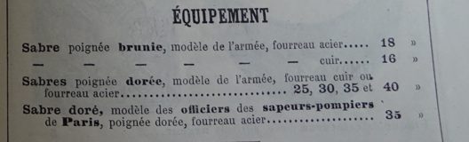 Sabre d'officier supérieur d'infanterie modèle 1845 - Page 4 Giroul10