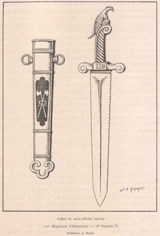 Identification d'un énigmatique sabre de sapeur Glaive10