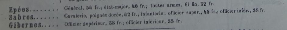 Sabre d'officier supérieur d'infanterie modèle 1845 - Page 4 Sabre_10