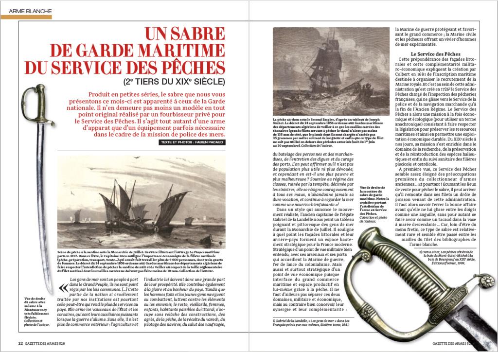Les sabres briquets 2nde partie : de l'an IX à 1854 - Page 2 Servic13