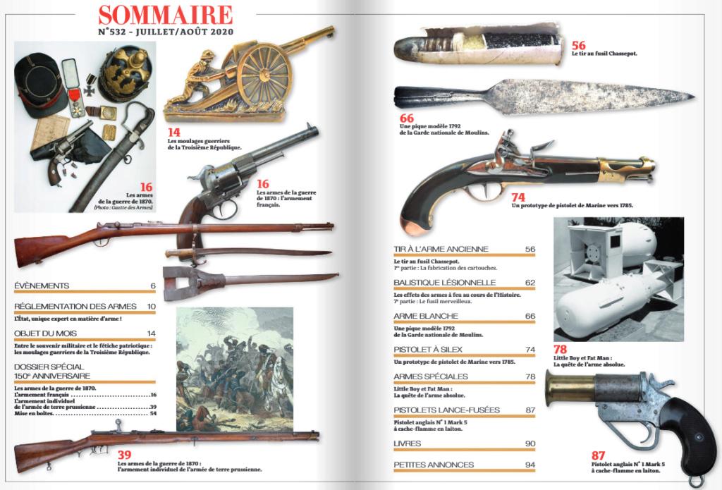 La Gazette des Armes  Sommai11