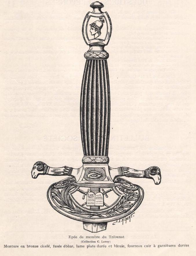 épée glaive de commissaire des guerres  Tribun10