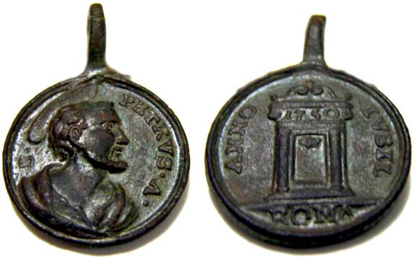San Pedro y San Pablo / Puerta Santa  (R.M. SXVIII-C186) 1750_j10