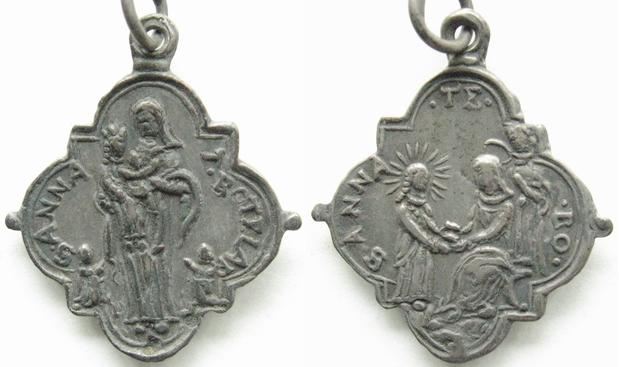 religious medal Ana_de10