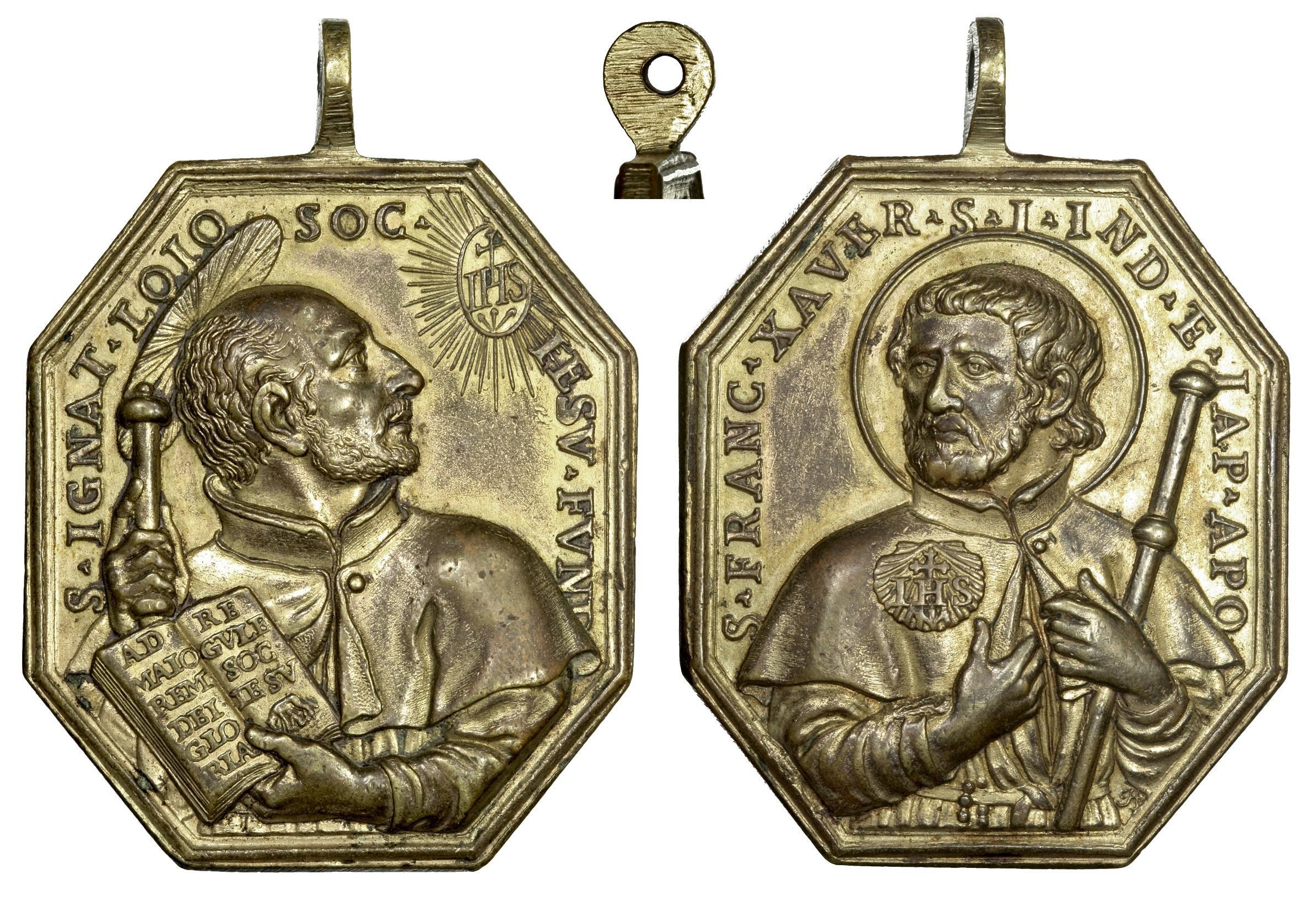 S. Ignacio de Loyola / S. Francisco Javier - Hamerani (R.M. SXVIII-P93) Ignaci10
