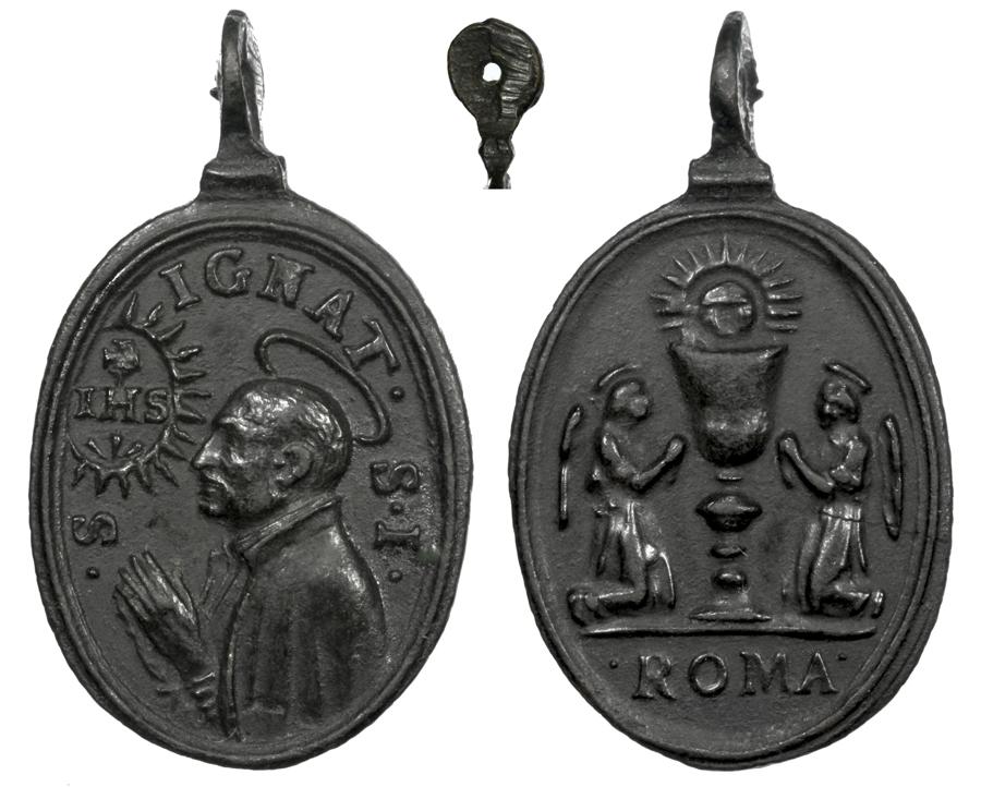 San Ignacio de Loyola / Santísimo Sacramento S. XVII Ignaci11