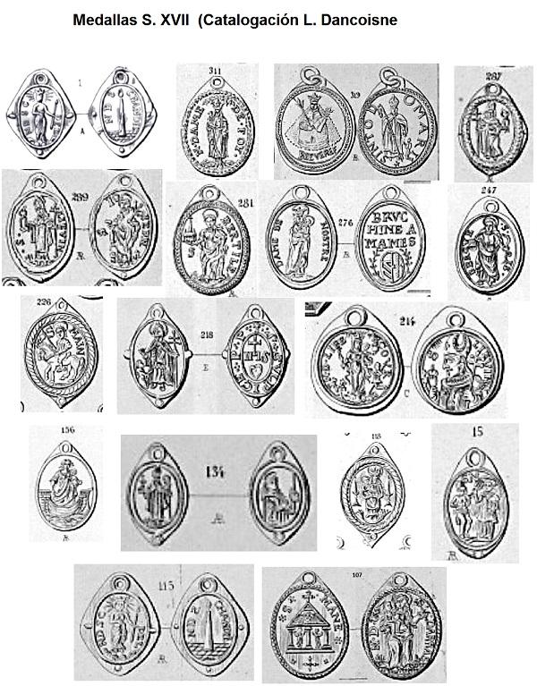 Notre Dame de Montaigu / Crucifixión  (R.M.  SXVII-O503) (AM) Medall10