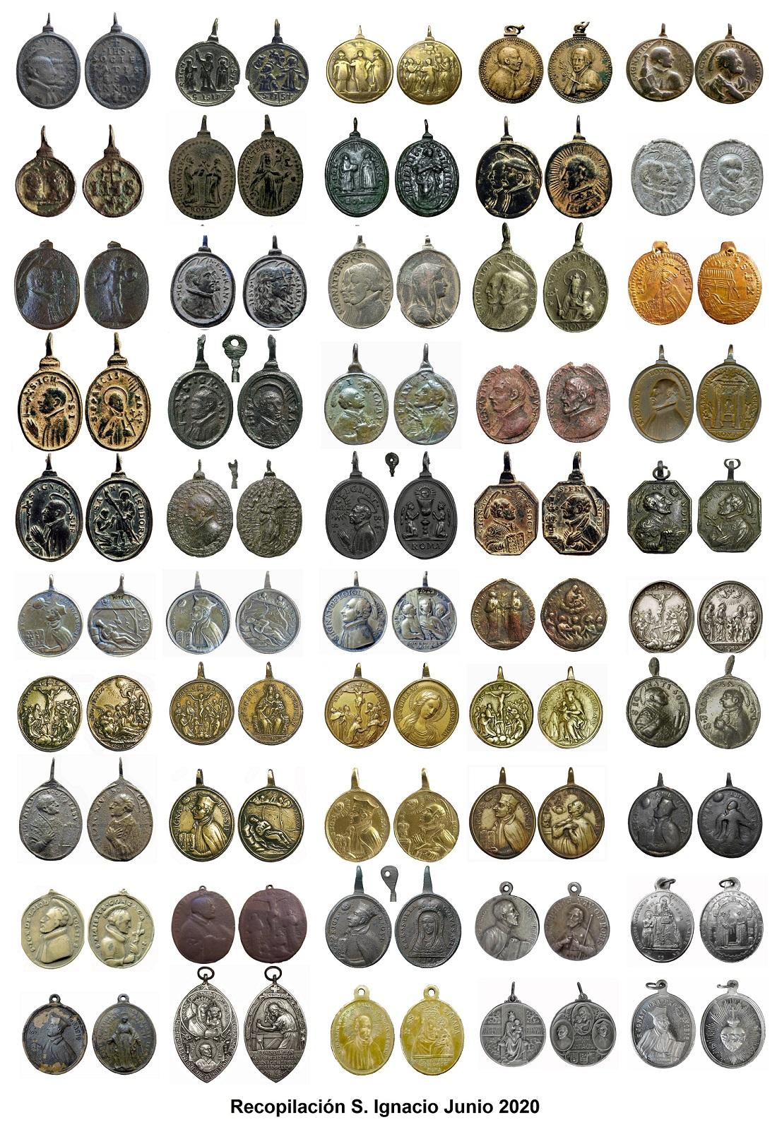 Recopilacion 250 medallas de San Ignacio de Loyola Recopi10