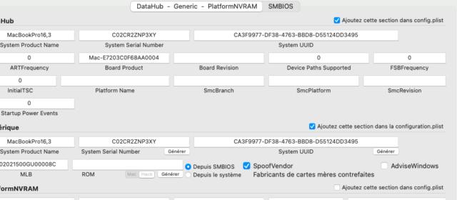 Problème au début de l'installation Big Sur  sur mon HP Captu113