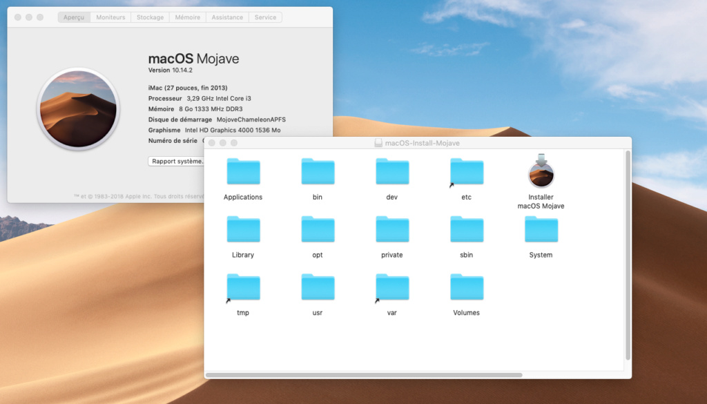 Chameleon macOS Mojave USB Captur19