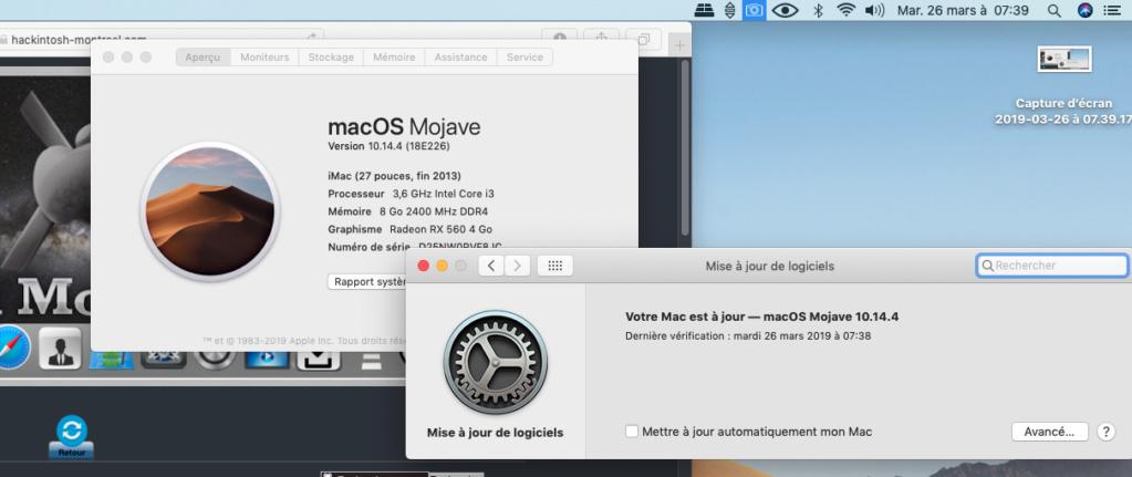 macOS Mojave 10.14.4 Finale version (18E226)  Captur41