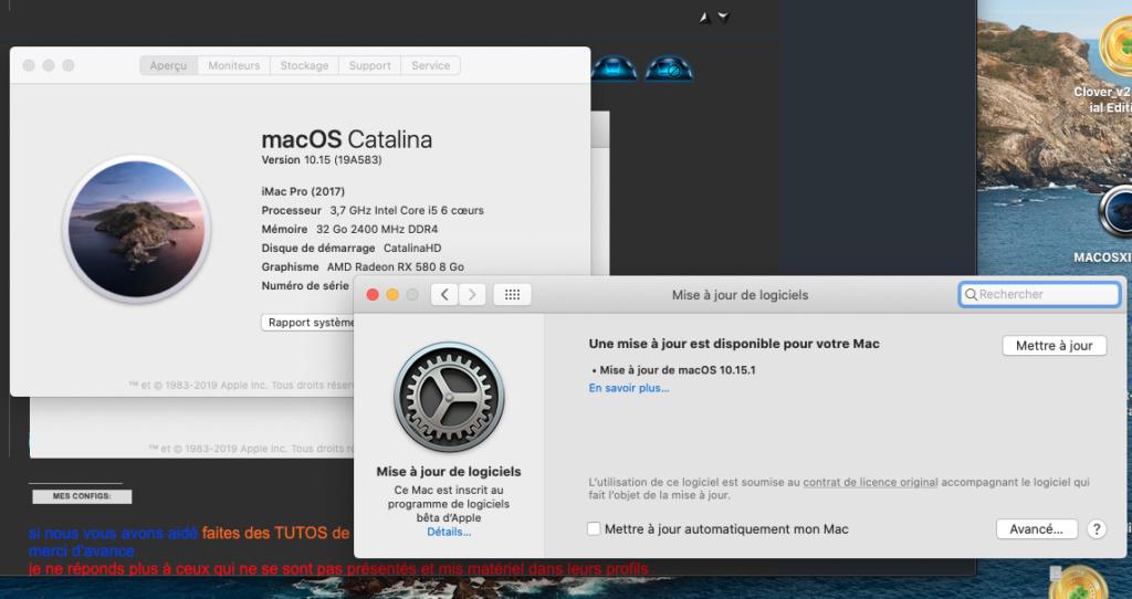 Mise a jour macOS Catalina 10.15.1 (19B88) Captur51