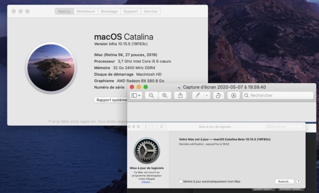 macOS Catalina 10.15 Developper Beta - Page 7 Captur74