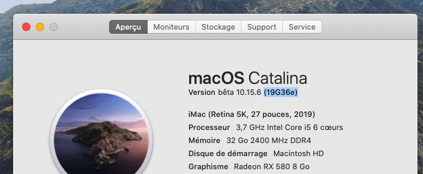 macOS Catalina 10.15 Developper Beta - Page 8 Captur83