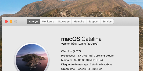 macOS Catalina 10.15 Developper Beta - Page 8 Captur88