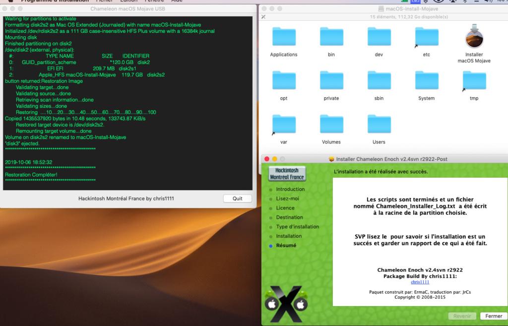 Chameleon macOS Mojave USB Chamel10