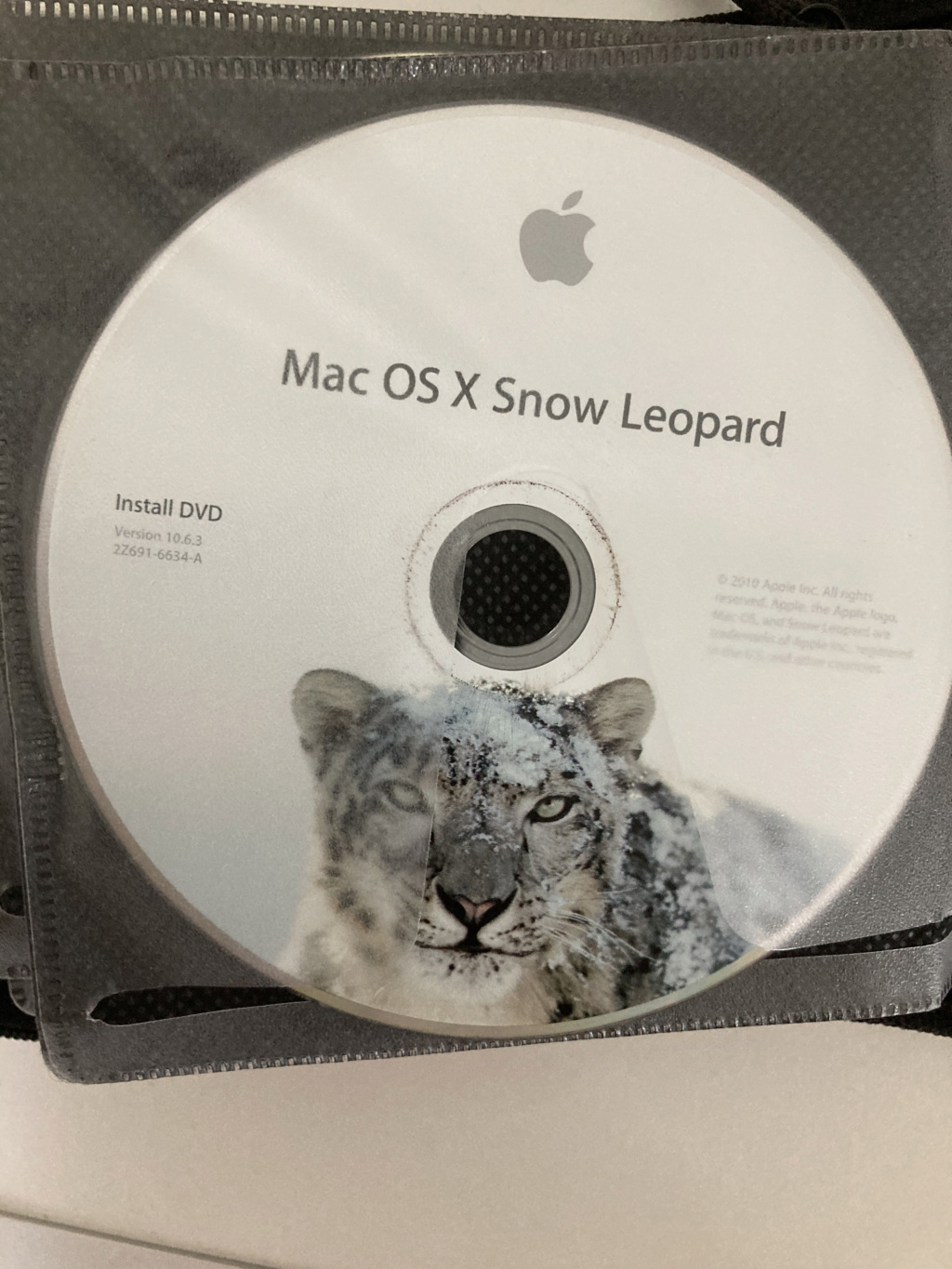 Tuto  Snow Leopard Version Gold Master 10A432 sur HP ProBook 6560b . Snow_l11