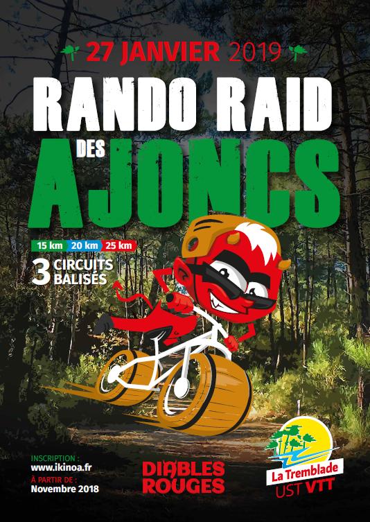 Rando vtt Les Ajoncs à la Tremblade le 27 Janvier 2019 43097410