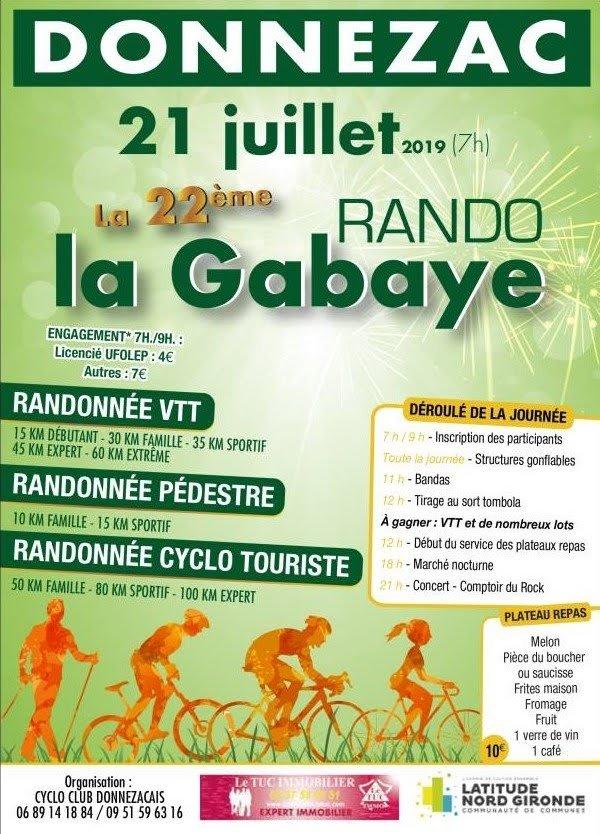Rando vtt La Gabaye a Donnezac le dimanche 21 Juillet 2019 Cc-dnz10